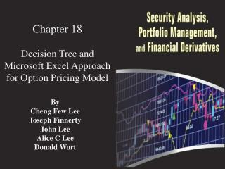 Chapter 18 Decision Tree  and  Microsoft Excel Approach for  Option  Pricing Model
