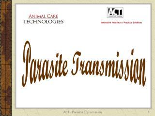 Parasite Transmission