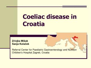 Coeliac disease in Croatia