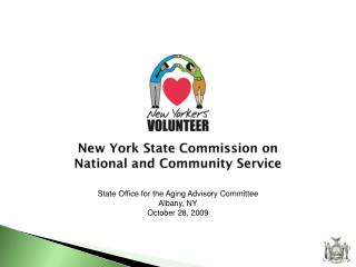 New York State Commission on  National and Community Service