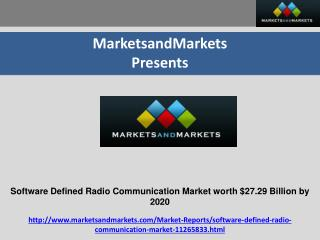 Software Defined Radio Communication Market