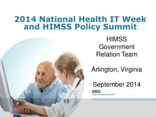 2014 National Health IT Week and HIMSS Policy Summit