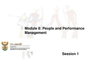 Module 8: People and Performance Management