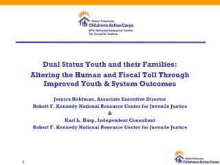 Dual Status Youth and their Families: