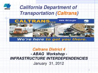 California Department of Transportation ( Caltrans )