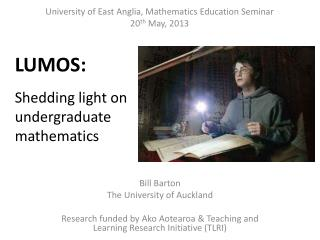 Shedding light on undergraduate mathematics