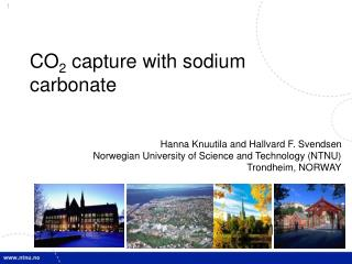 CO 2  capture with sodium carbonate