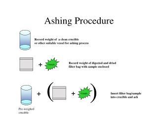 Ashing Procedure