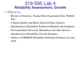 Reliability Assessment, Growth