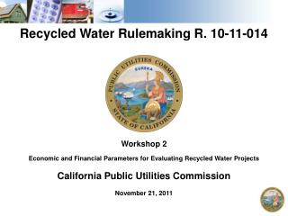 Recycled Water Rulemaking R. 10-11-014