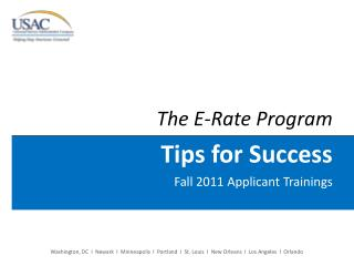 The E-Rate Program