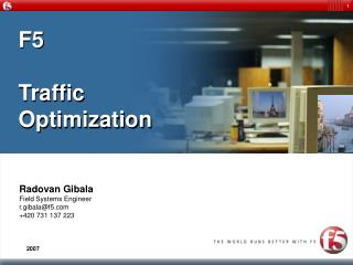 F5 Traffic Optimization