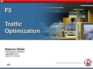 F5 Traffic Optimization