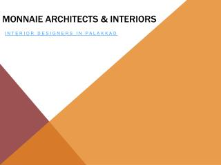 Monnaie Architects and Interiors