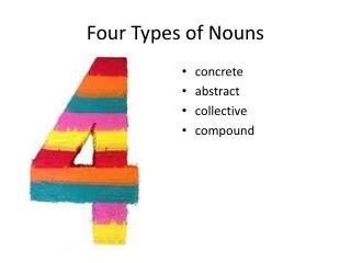 Four Types of Nouns