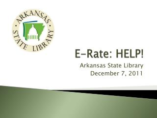 E-Rate: HELP!