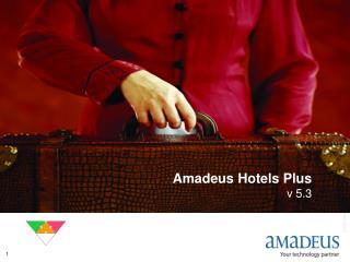 Amadeus Hotels Plus v 5.3