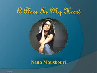 A Place In  My Heart Nana  Mouskouri
