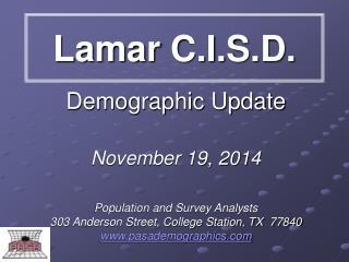 Lamar C.I.S.D.