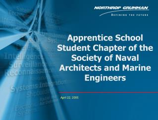 Apprentice School Student Chapter of the Society of Naval Architects and Marine Engineers