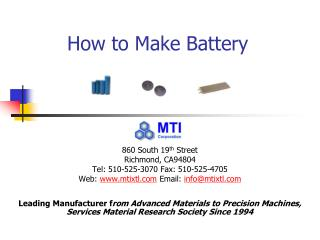 How to Make Battery