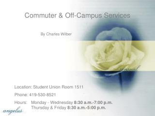 Commuter & Off-Campus Services