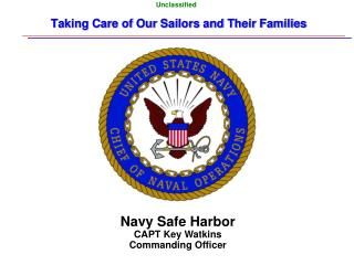 Taking Care of Our Sailors and Their Families