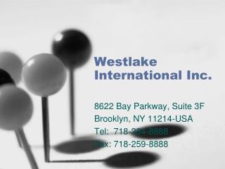 Westlake International Inc.