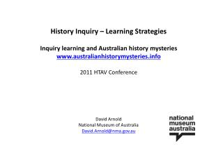 History Inquiry   Learning Strategies  Inquiry learning and Australian history mysteries australianhistorymysteries  201