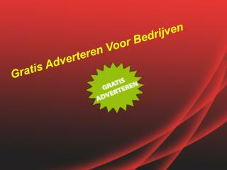 Post Gratis Advertenties - Gratis Adverteren In Nederland
