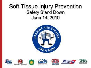 Soft Tissue Injury Prevention Safety Stand Down June 14, 2010