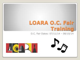 LOARA O.C. Fair Training