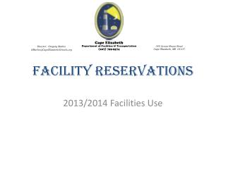 Facility Reservations