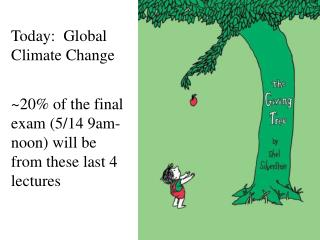 Today:  Global Climate Change