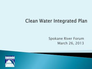 Clean Water Integrated Plan