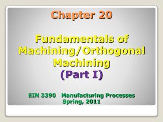 20.2 Fundamentals