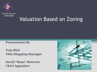Valuation Based on Zoning
