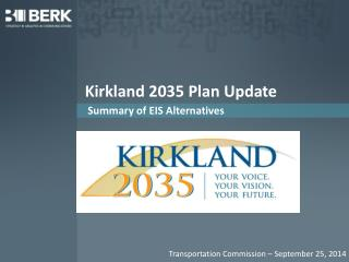 Kirkland 2035 Plan Update