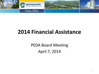 2014  Financial  Assistance
