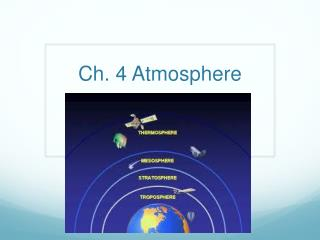 Ch. 4 Atmosphere