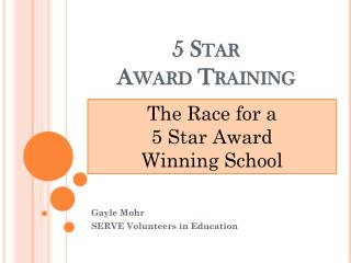 5 Star Award Training