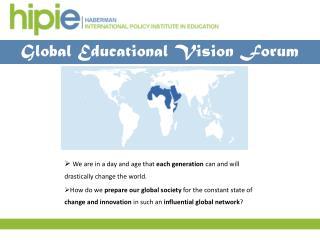 Global Educational Vision Forum