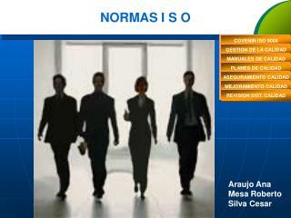 NORMAS I S O