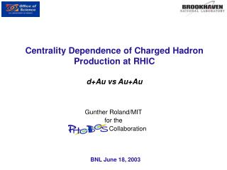 Centrality Dependence of Charged Hadron Production at RHIC d+Au vs Au+Au