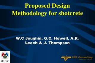 Proposed Design Methodology for shotcrete