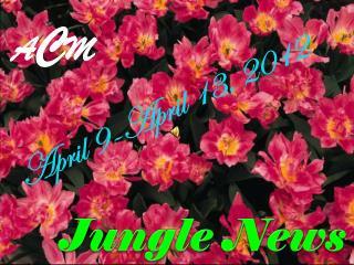 April 9-April 13, 2012