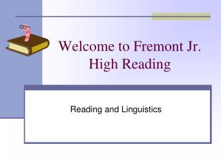 Welcome to Fremont Jr. High Reading