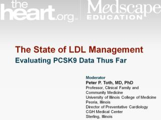 PCSK9 Loss-of-function Mutations