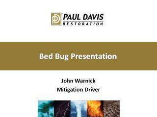 Bed Bug Presentation