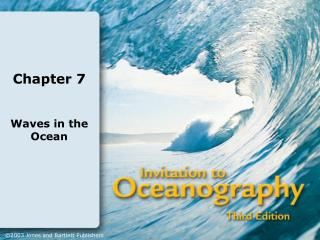 Definition:  Waves are the undulatory motion of a water surface.